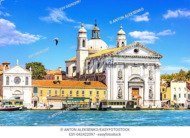 The church of Santa Maria Assunta in the Venetian Lagoon, Italy
