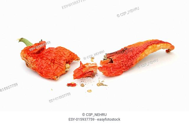 red hot dried pepper