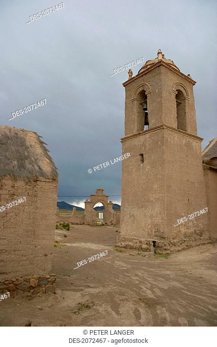 Church Of Sepulturas, Oruro Department, Bolivia