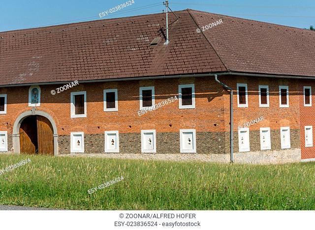 Farm of brick walls