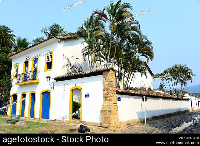 Paraty is a colonial municipality UNESCO World Heritage in the Costa Verde, Brazil. Historical Center