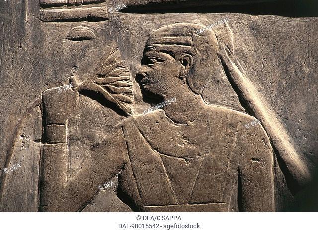 Egypt - Ancient Memphis, Saqqara necropolis (a World Heritage Site by UNESCO, 1979). Mastaba of Mereruka, Old Kingdom, Dynasty VI