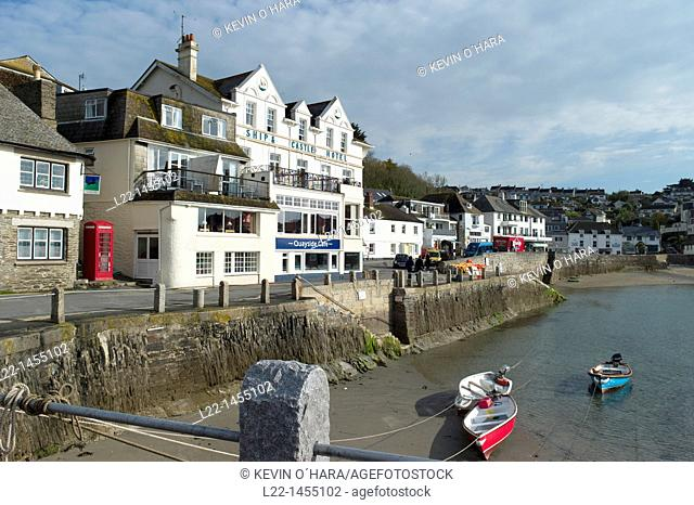 St Mawes is a small town opposite Falmouth, on the Roseland Peninsula on the south coast Cornwall, England, United Kingdom