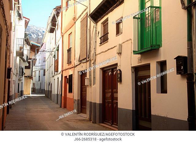 Jewish quarter in Hervás. Ambroz valley. Cáceres