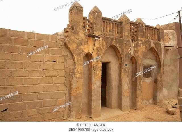 Traditional Architectural Structure In Segou, Mali