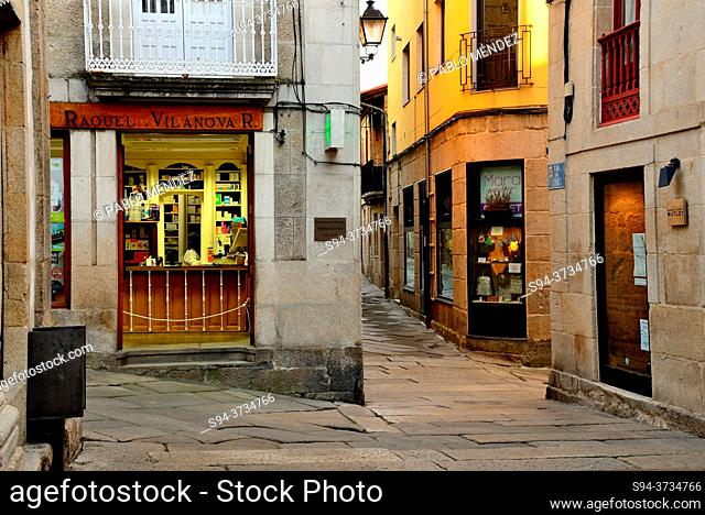 Old Town of Allariz, Orense, Spain