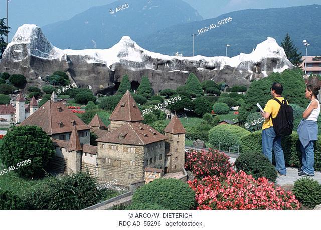 Swissminiatur Melide Lake Lugano Ticino Switzerland