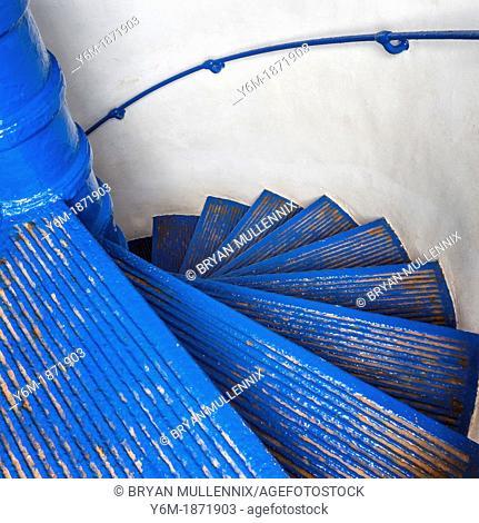 Circular Staircase At Arecibo Lighthouse, Arecibo, Puerto Rico