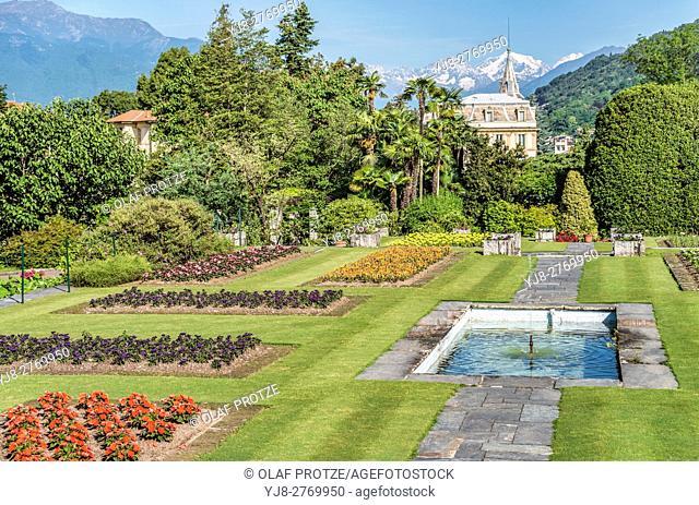 Garden of Villa Taranto at Lago Maggiore, Pallanza, Piemont, Italy | Garten der Villa Taranto am Lago Maggiore, Pallanza, Piemont, Italien