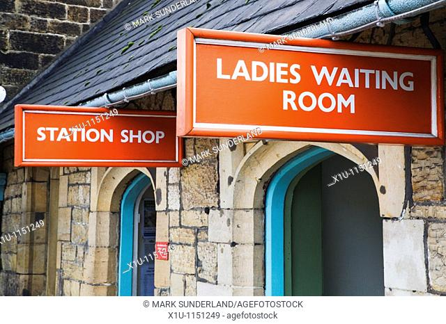 Station Shop and Ladies Waiting Room Grosmont Yorkshire England