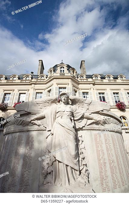 France, Marne, Champagne Region, Epernay, town hall