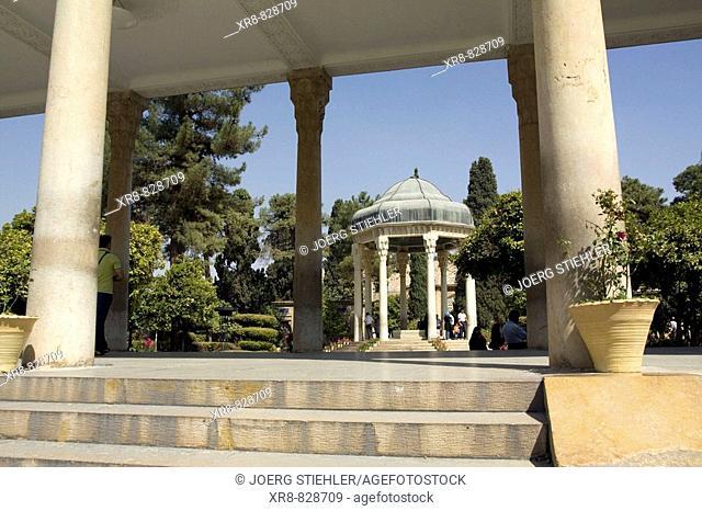Iran, Shiraz, Tomb of Hafez