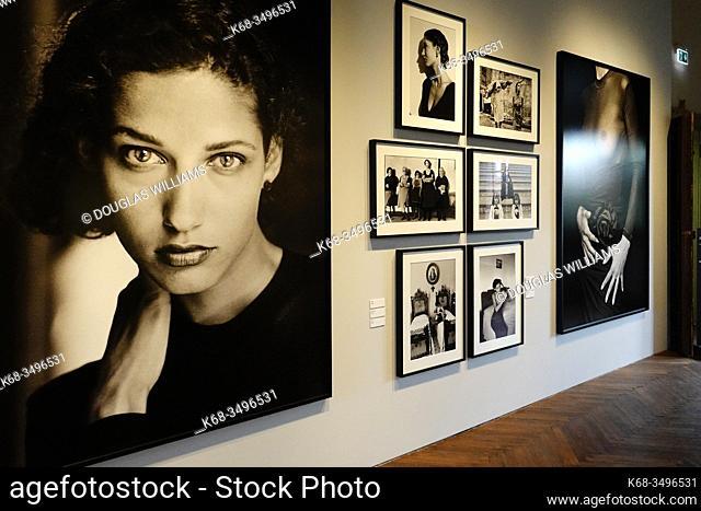 Exhibition by photographer Ferdinando Scianna, Venice, Italy