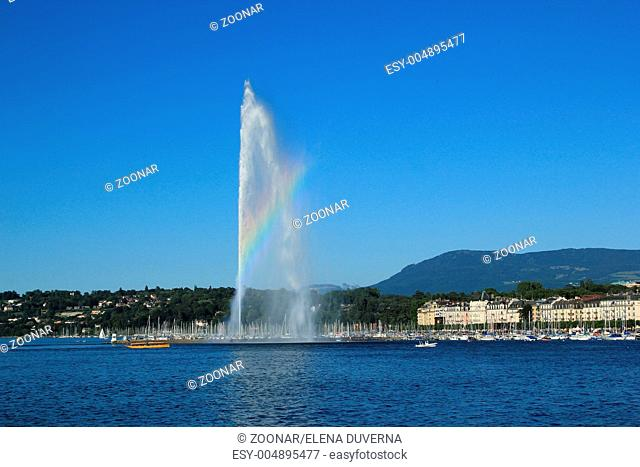 View of Geneva, Switzerland