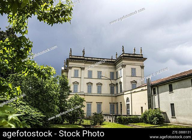 Villa Cusani Tittoni Traversi. Via Giovanni Maria Lampugnani. Desio, Lombardy, Italy