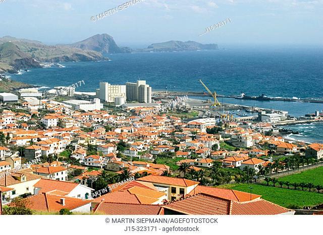 Caniçal and Ponta de São Lourenço. Madeira Island. Portugal