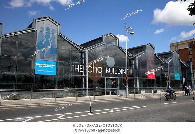 the chq custom house quay building former tobacco store dublin republic of ireland