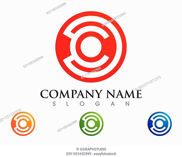 Connecting concept Logo Template vector icon design