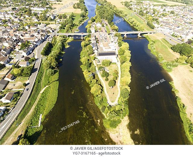 L'Ile-Bouchard, Indre-et-Loire, Centre-Val de Loire, France