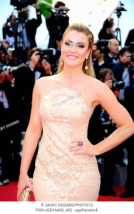 Camilla Kerslake Arriving on the red carpet for the film 'La Fille inconnue' 69th Cannes Film Festival May 18, 2016