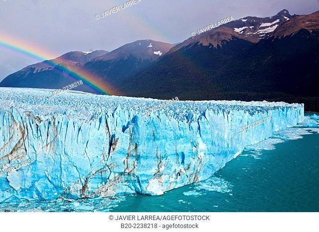 Perito Moreno glacier. Los Glaciares National Park. Argentino Lake. Near El Calafate. Santa Cruz province. Patagonia. Argentina