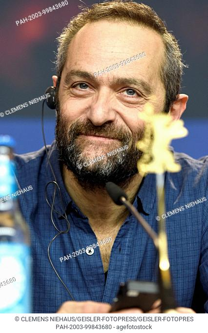 Cedric Kahn during the 'La prière / The Prayer' press conference at the 68th Berlin International Film Festival / Berlinale 2018 at Hotel Grand Hyatt on...