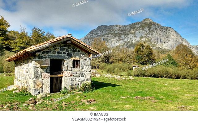Vegabaño, Picos de Europa National Park and Biosphere Reserve, León province, Spain