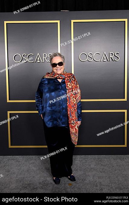 Oscar® nominee Kathy Bates arrives at the Oscar Nominee Luncheon held at the Ray Dolby Ballroom, Monday, January 27, 2020