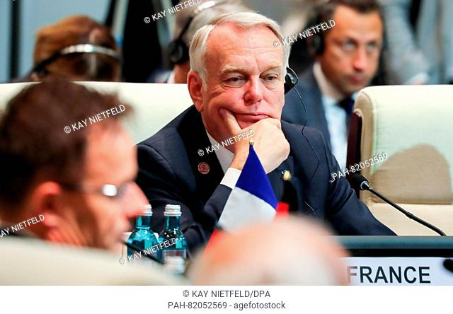 French foreign minister Jean-Marc Ayrault attends the 11th Asia-Europe Meeting (ASEM) Summit of Heads of State and Government (ASEM11) in Ulan Bator, Mongolia