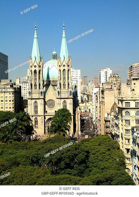 Sé cathedral, São Paulo, Brazil
