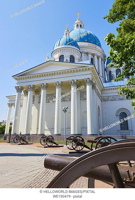 Trinity Cathedral, St Petersburg, Russia