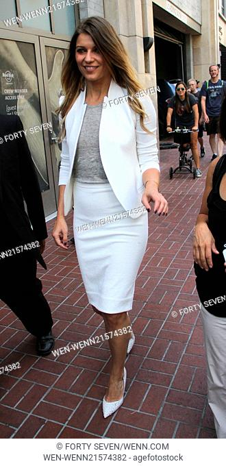 San Diego Comic-Con International - Day 1 - Celebrity arrivals Featuring: Ivana Milicevic Where: San Diego, California, United States When: 24 Jul 2014 Credit:...