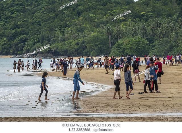 Telok Melano beach, Sematan, Sarawak, Malaysia