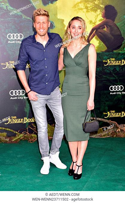 Premiere The Jungle Book at Zoo-Palast Featuring: Maxi Arland, Anne-Catrin Maerzke Where: Berlin, Germany When: 05 Apr 2016 Credit: AEDT/WENN.com