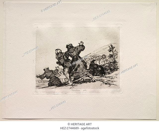 The Horrors of War: This Too. Creator: Francisco de Goya (Spanish, 1746-1828)