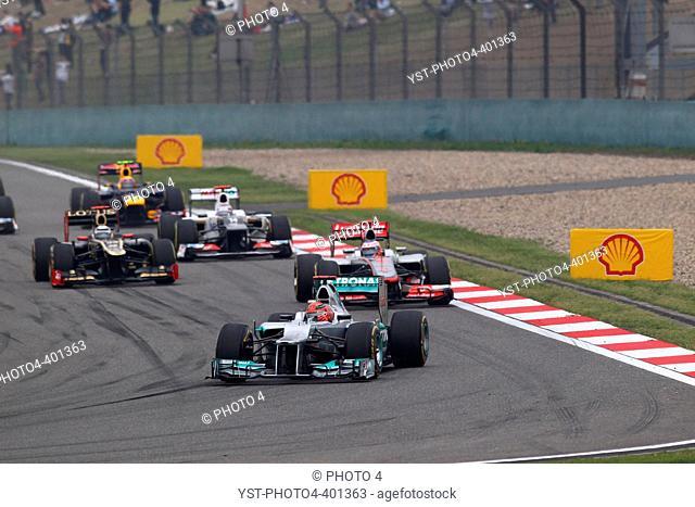 15.04.2012 - Race, Michael Schumacher (GER) Mercedes AMG F1 W03