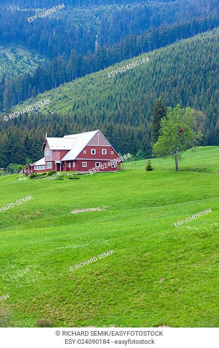 Pomezni cottage, Krkonose (Giant Mountains), Czech Republic