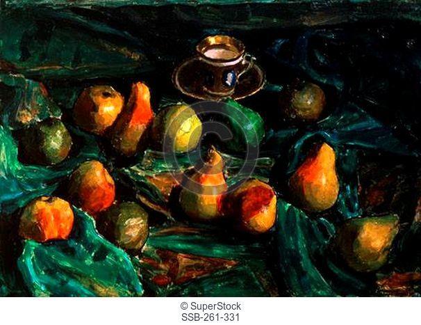 Pears by Igor Grabar, 1922, 1871-1960, Russia, Moscow, Tretyakov Gallery
