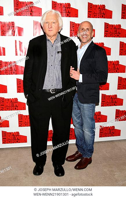Opening night after party for The New Group production Sticks and Bones, held at the Out NYC hotel - Arrivals. Featuring: David Rabe