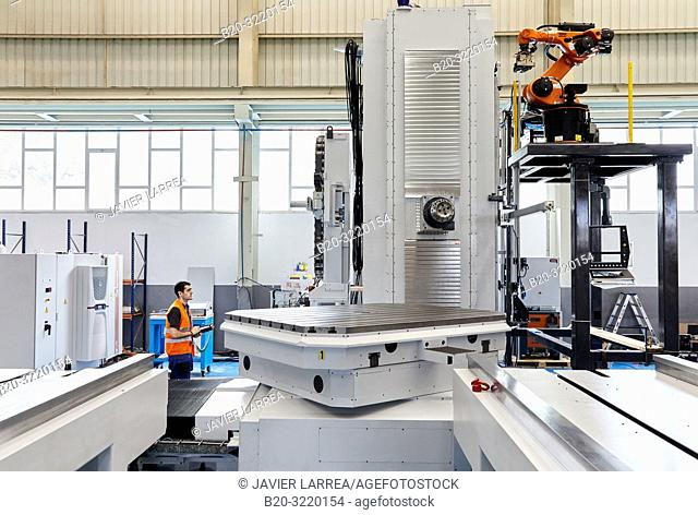 Lathe, Machining Center, CNC, Design, manufacture and installation of machine tools, Gipuzkoa, Basque Country, Spain, Europe