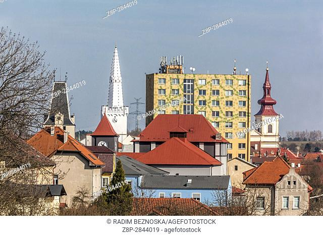 Artistic style, Gothic, Baroque and socialist, Kadan, Northern Bohemia, Czech Republic, Europe