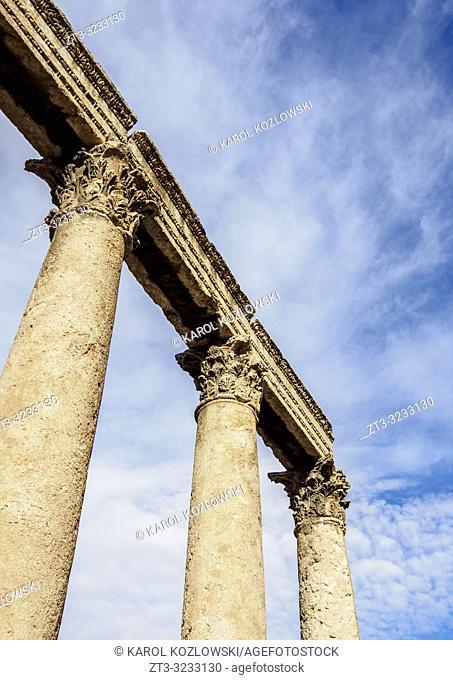 Roman Ruins, The Hashemite Plaza, Amman, Amman Governorate, Jordan