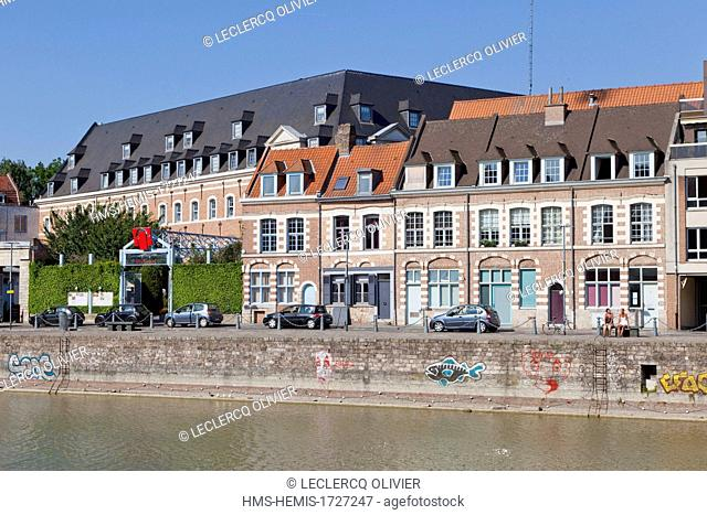 France, Nord, Lille, Wault's dock