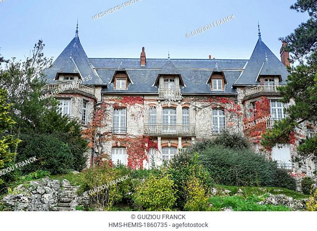 France, Indre et Loire, Truyes, the castle Bel Air built in the early 20th century