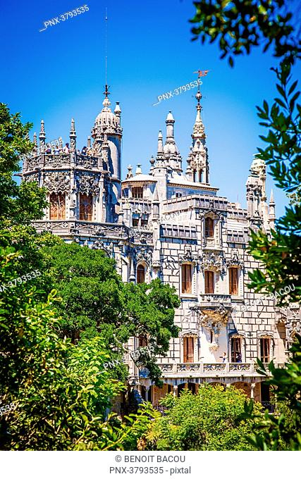 The Quinta da regaleira, Sintra, Lisbon area, Portugal