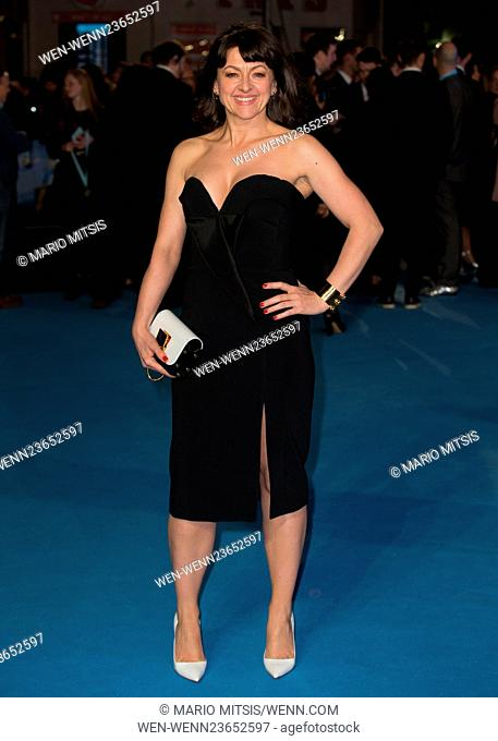 The European Premiere of 'Eddie The Eagle' held at the Odeon Leicester Square - Arrivals Featuring: Jo Hartley Where: London