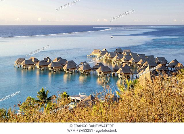 Hotel in Lagoon of Moorea, Moorea, French Polynesia