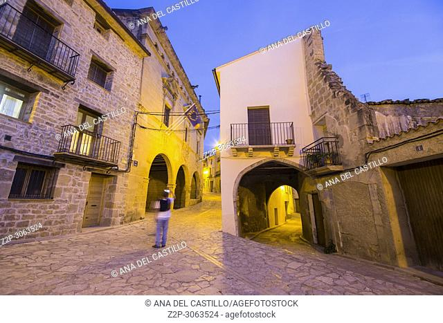 Torre del Compte is a medieval village in Matarrana county Aragon. Spain