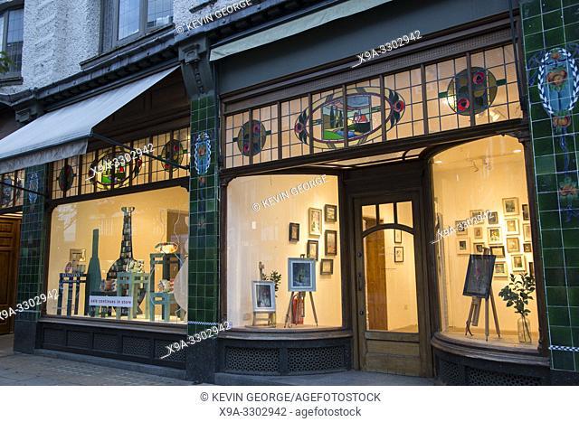 Anthropologie Clothes Shop; Kings Road; Chelsea; London; England; UK;