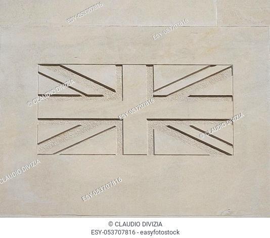 national flag of the United Kingdom (UK) aka Union Jack